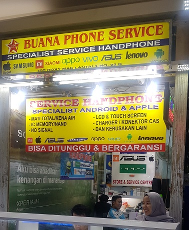 Service iPhone & Android Jakarta